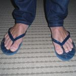How to Wear Flip flops With Skinny Jeans