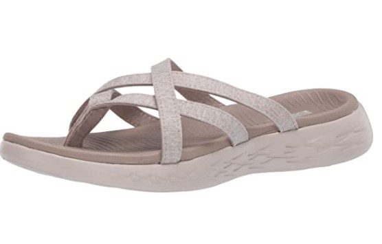 Skechers Women's On The Go 600-Dainty Flat Sandal