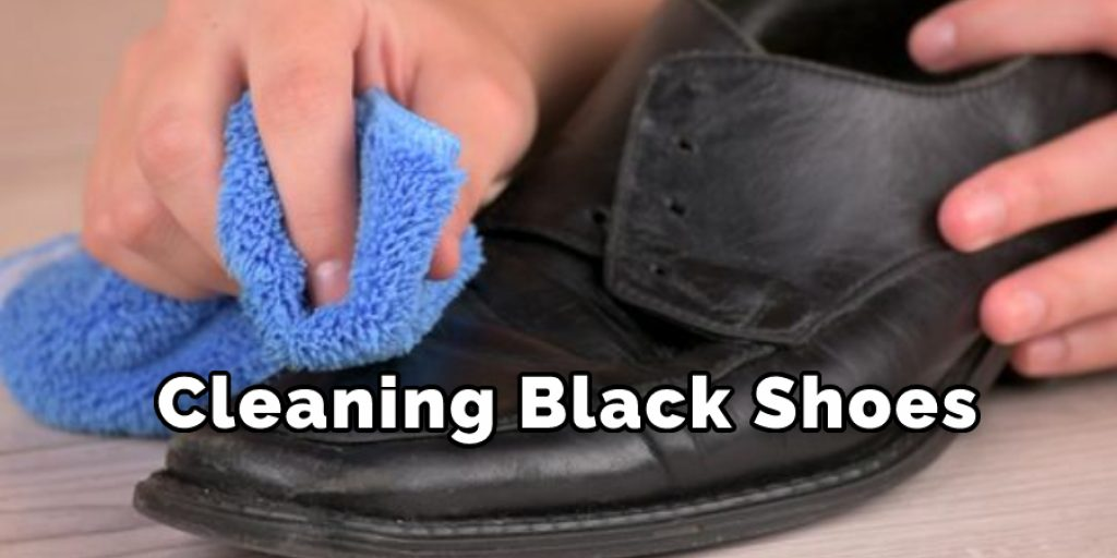 Cleaning Black Shoes