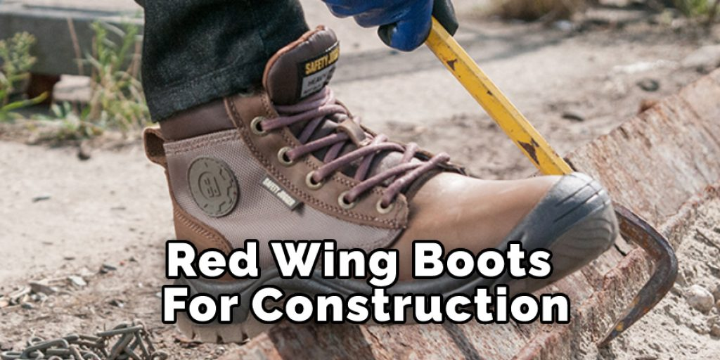 Red wing Boots For Construction