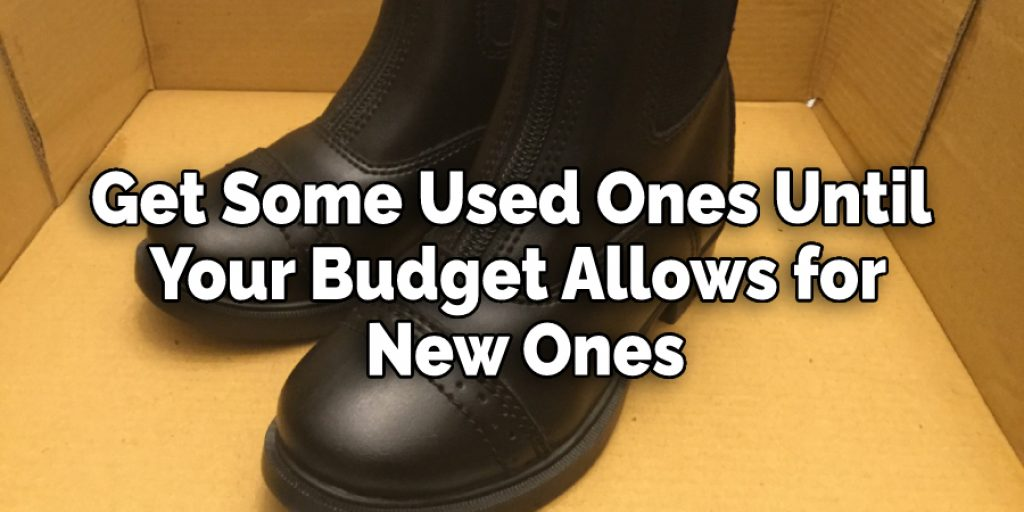 Get Some Used Ones Until  Your Budget Allows for  New Ones